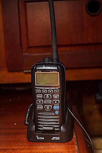 Handhållen VHF